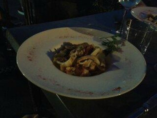 K2 Restaurant : sauté de seiches