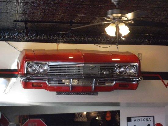 Cruisers Cafe 66: deco