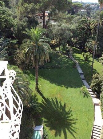 Grand Hotel Miramare : вид во двор