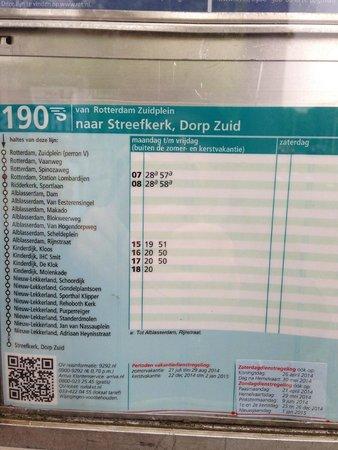 Mühlenanlagen in Kinderdijk-Elshout: 190往路