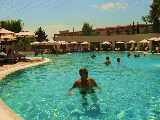Alkyon Resort Hotel & Spa: in the sea water pool