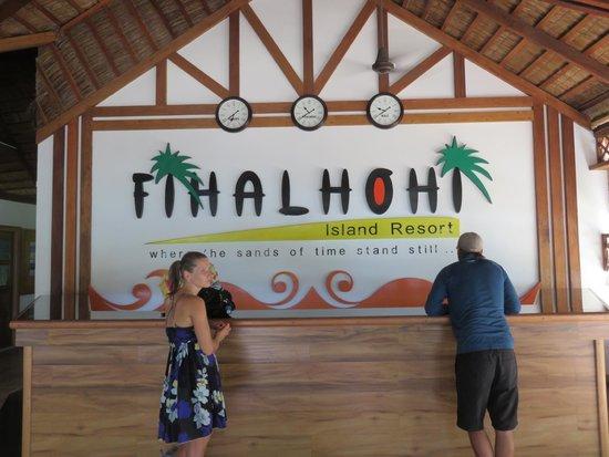 Fihalhohi Island Resort: Lobby
