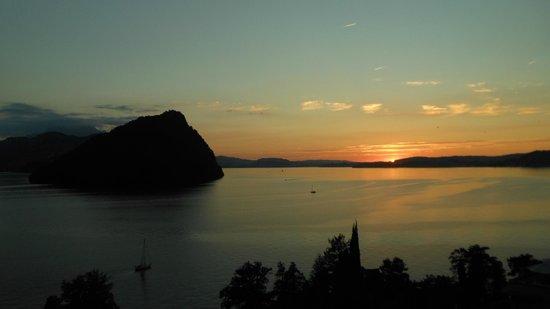 See- und Seminarhotel FloraAlpina: Omega-Aussicht in Richtung Luzern