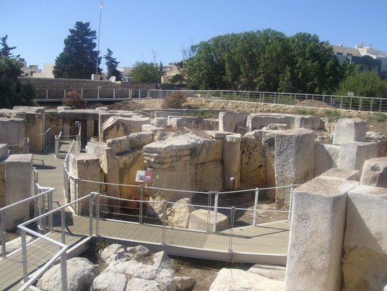 Tarxien Temples: Dall'interno