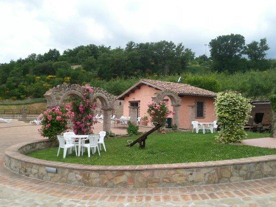 Villa Dama: intorno alla piscina
