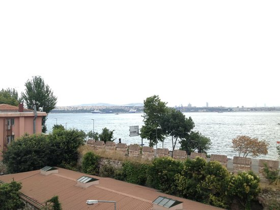 Armada Istanbul Old City Hotel: View from terrace