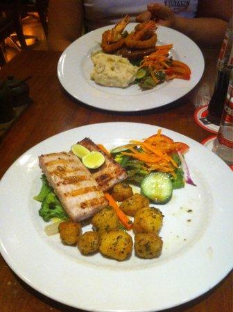 Stakz Bar & Grill: Fantastic food