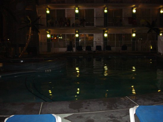 The StarLux Hotel & Suites: pool closed for the night
