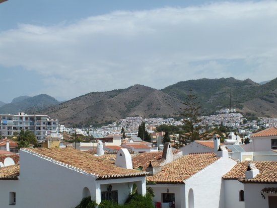 Hotel Villa Flamenca: view from one of the rooms