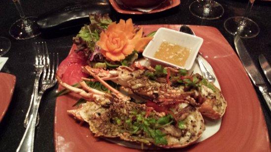 Thai Garden: Heerlijke lobster