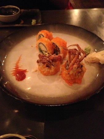 Naoki: Sushi de Cangrejo