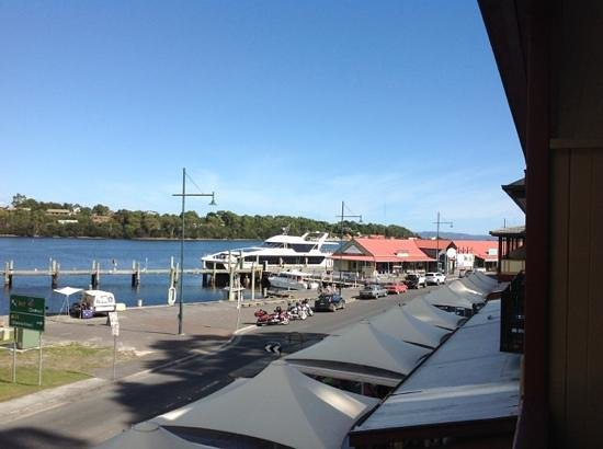 Gordon River Cruises : departure point for the cruise