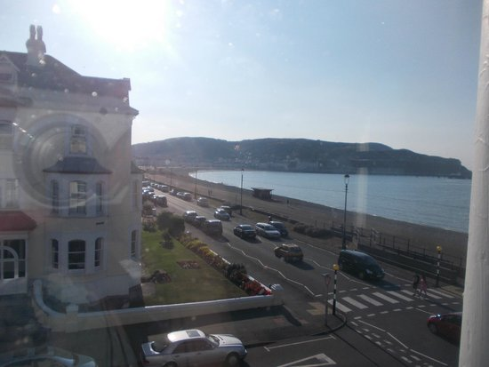 The Manor Hotel: view from window