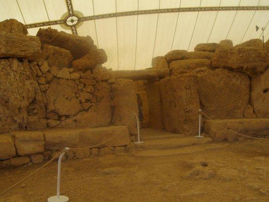 Templos Megalíticos Mnajdra: L'ingresso