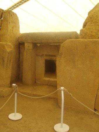 Templos Megalíticos Mnajdra: Una delle porte