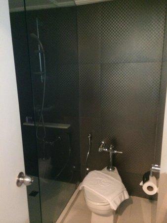 Centara Hotel Hat Yai: Standing shower with good pressure