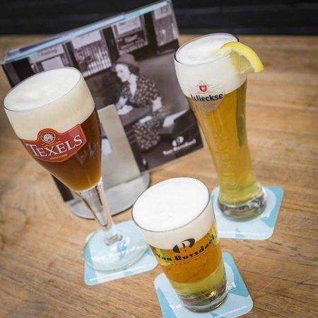 Grand Cafe Van Ruysdael: Verschillende (speciaal) bieren op de tap
