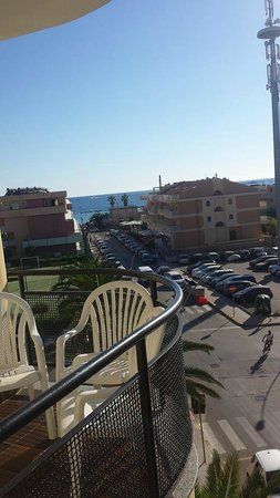 Rina Hotel: View from our balcony :D