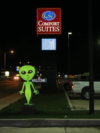 Comfort Suites Roswell: Sign at entrance