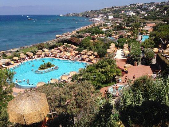 Giardini Poseidon Terme : vista dall'alto