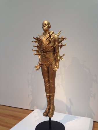 North Carolina Museum of Art : Tar Baby vs. St. Sebastian by Michael Richards
