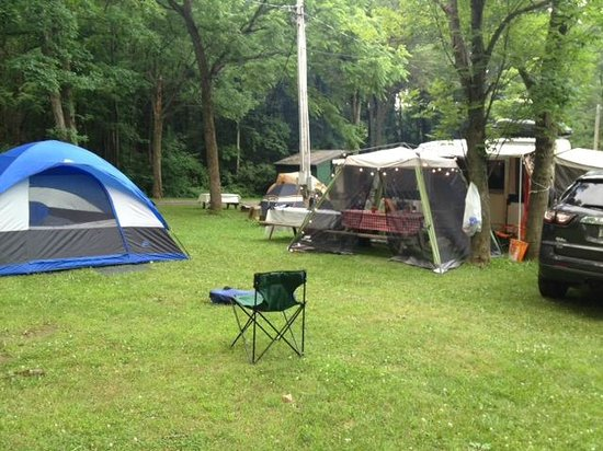 Conesus Lake Campgrounds: View on one side of our site