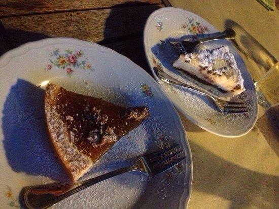 Il Geco Circolo Eno Gastronomico : Fig and ricotta with chocolate tart