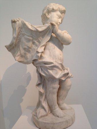 North Carolina Museum of Art : Angel Holding the Veil of Veronica by Agostino Cornacchini
