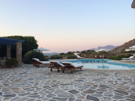 Villa Marandi Luxury Suites : Sunset