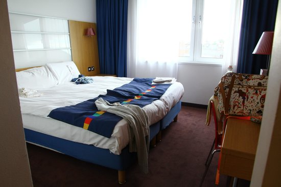 Park Inn by Radisson York: Camera da letto
