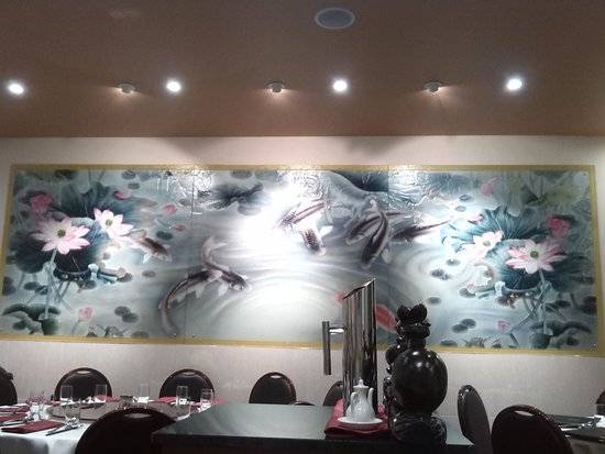 Me Wah Restaurant Launceston: UGLEE decor