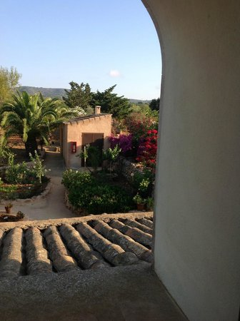 Finca Hotel Son Marimon: View from our room
