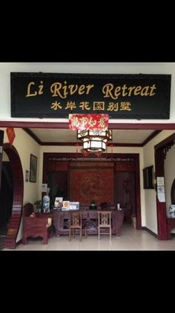 Li River Resort : Рецепшен