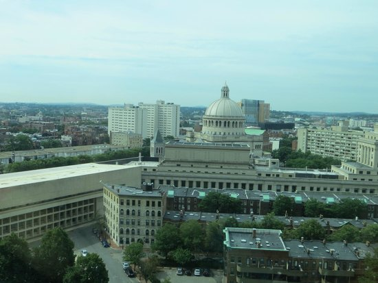 Sheraton Boston Hotel: View from room 1603