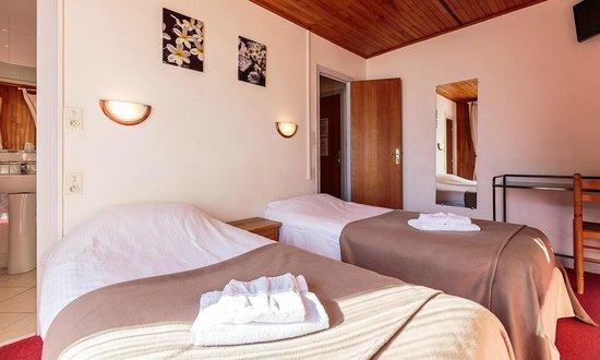 Hotel Le Lavachey: chambre