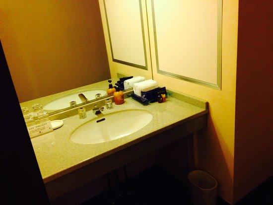 Kobe Tor Road Hotel Sanraku: 洗面室