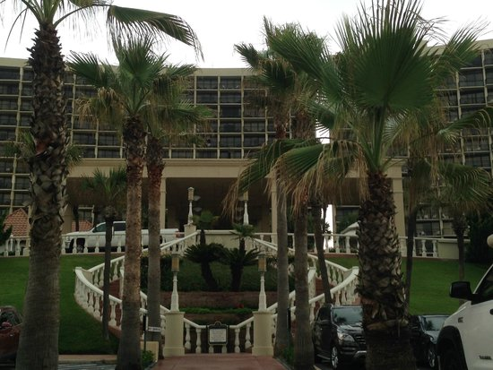 The San Luis Resort: Front view of San Luis Resort