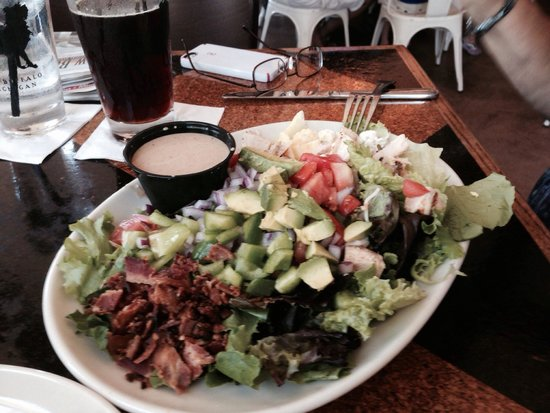 Cobb salad. - Foto di The Stray Dog Bar & Grill, New Buffalo ...