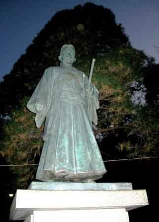 Kongoji Temple (Takahata Fudoson): Monument to Hijikata Toshizo of Shinsengumi