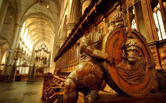 Interieur Grote Kerk