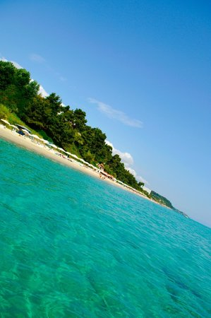 Alexander The Great Beach Hotel: Blue Water on our awarded Beach