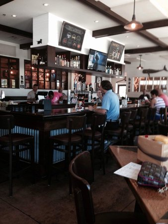 The Stray Dog Bar & Grill: The bar