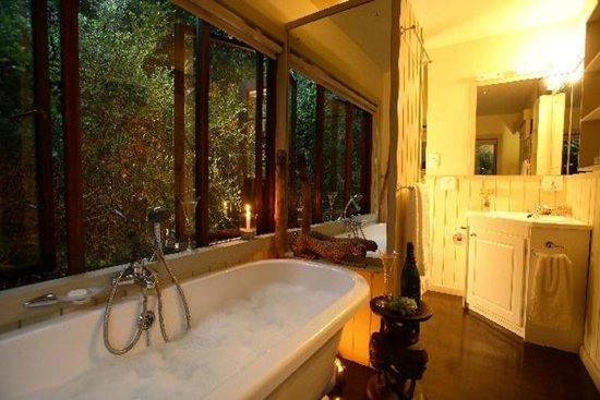 Moontide Guest House: Treetops Bathroom