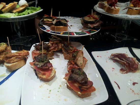 Bar Sport: setas con bacon