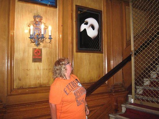 Phantom of The Opera London : on the way in