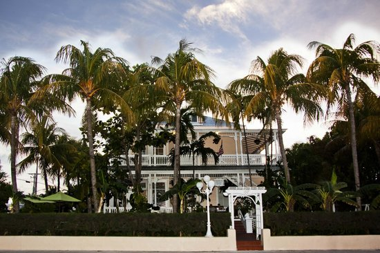 The stately and historic Southernmost Point Guest House