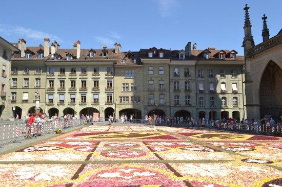 Old Town Bern: Цветочный ковер