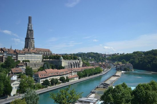 Old Town Bern: Панорама