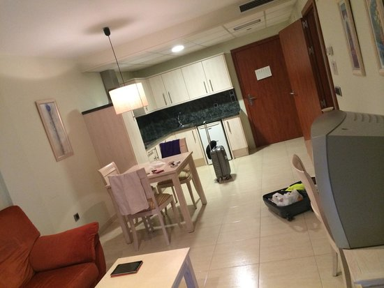 Atenea Calabria Apartaments: Кухня студия