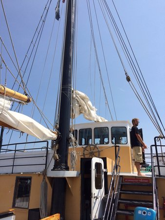 Tall Ship Silva Inc: On the Silva